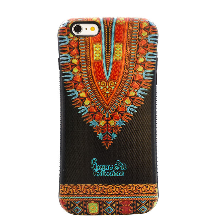 Black Dashiki  iphone 6 Plus Case