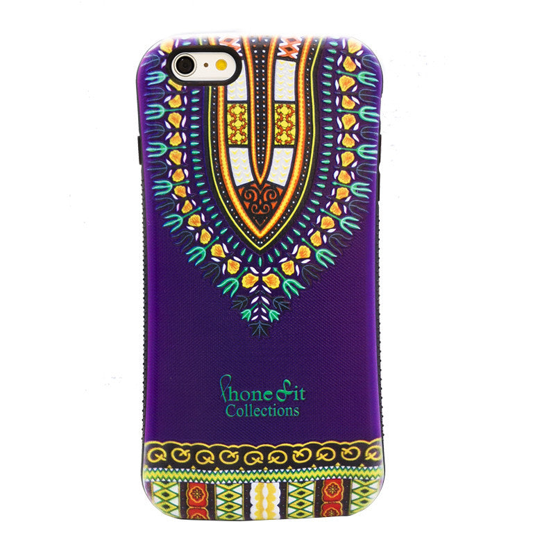 Purple Dashiki  iphone 6 Plus Case