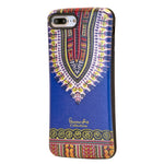Blue Dashiki  iphone 7 plus Case