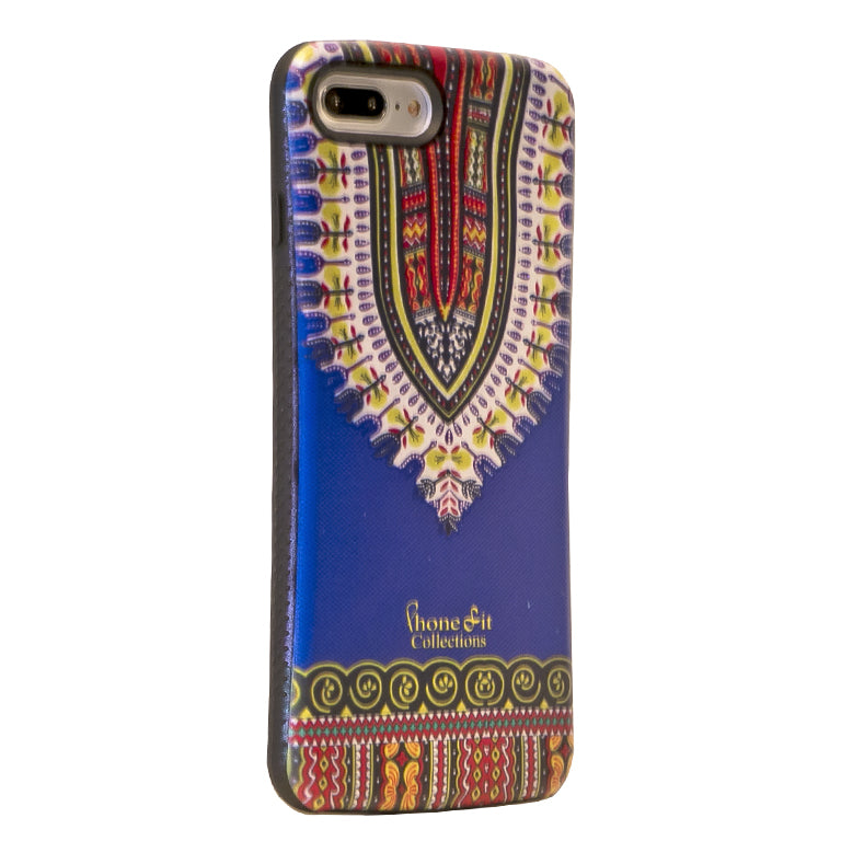 Blue Dashiki  iphone 7 Case