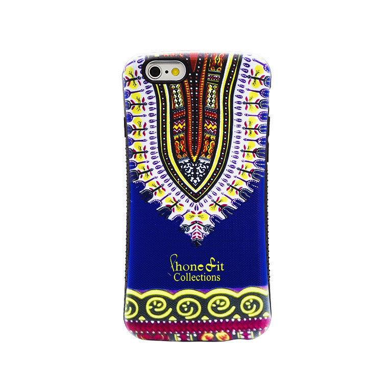 Blue Dashiki  iphone 6 plus Case - PRE ORDER TODAY *image shown is for iphone 6*