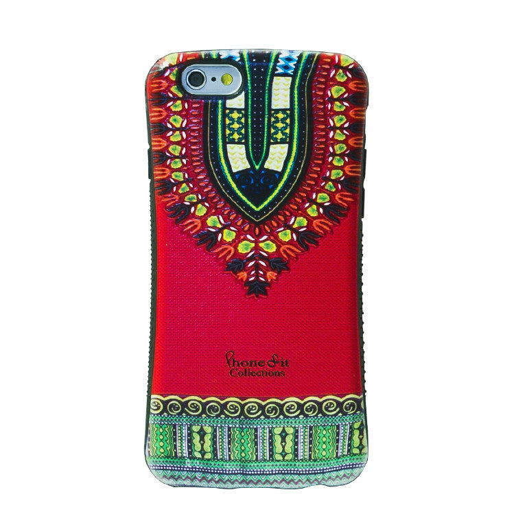 Red Dashiki  Samsung Galaxy 7 Case - PRE ORDER TODAY *image shown is iphone 6*