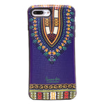 Purple Dashiki  iphone 7 plus Case (1)