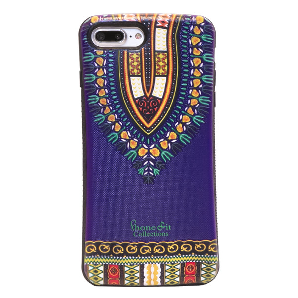 Purple Dashiki  iphone 7 plus Case
