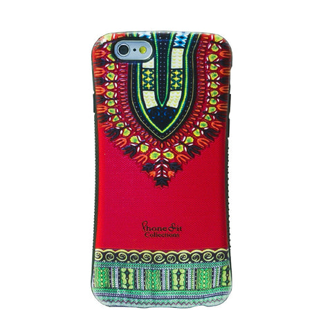 Red Dashiki  iphone 6 plus Case - PRE ORDER TODAY *image shown is for iphone 6*