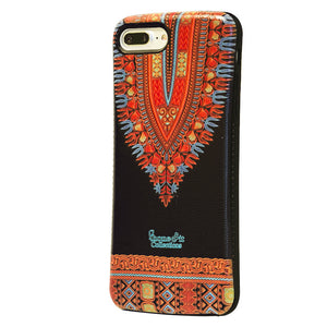 Black Dashiki iphone 7 plus case