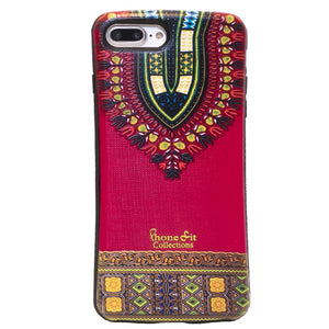 Red Dashiki  iphone 7 plus Case (1)