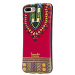 Red Dashiki  iphone 8 plus Case