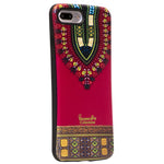 Red Dashiki  iphone 7 plus Case