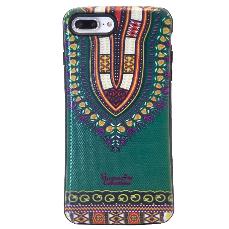Green Dashiki  iphone 7 Case (1)
