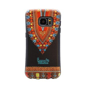 Black Dashiki Samsung Galaxy 8 Plus case