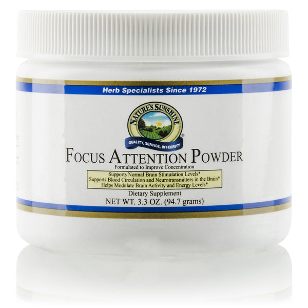 Focus Attention Powder | Nature's Sunshine | Nutritional Resources