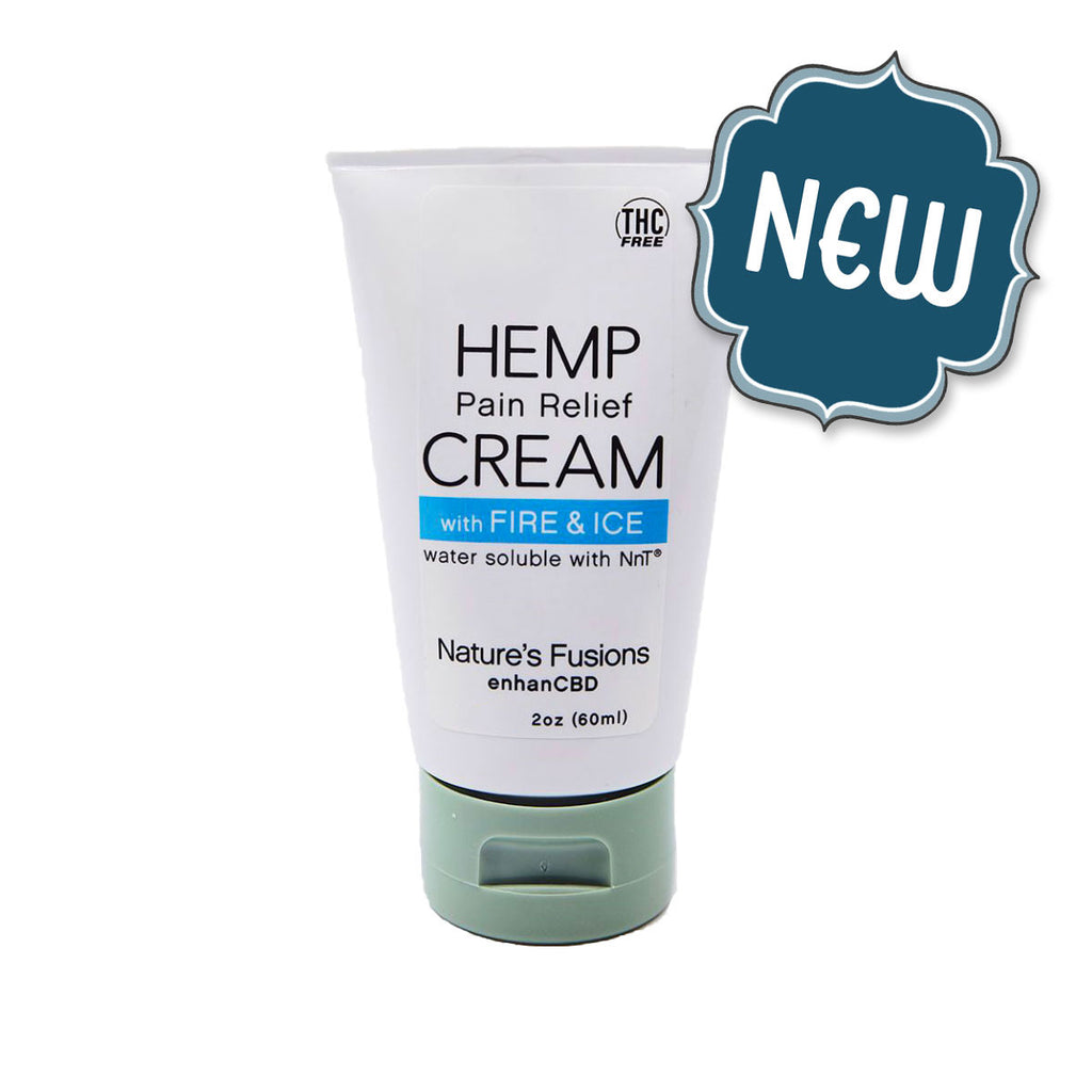 Hemp Pain Relief Cream — Fire & Ice™ | Nutritional Resources