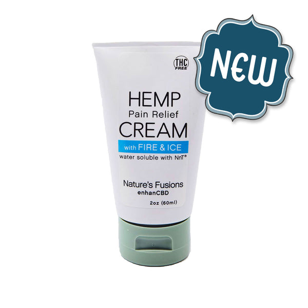 Hemp Pain Relief Cream with Fire & Ice™ Nano H₂O | Nutritional Resources