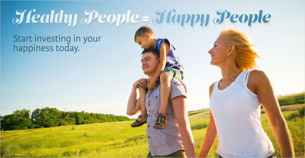 Healthy People = Happy People