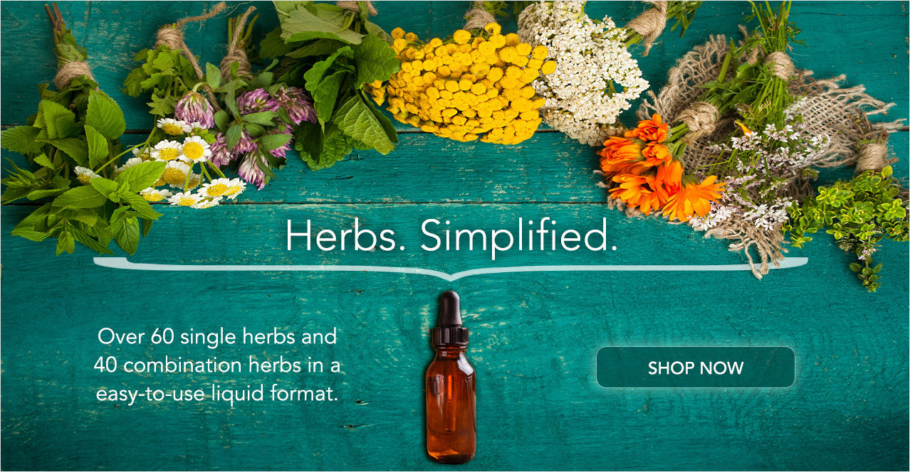 Herbs. Simplified.