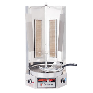 Asador Vertical 2qmd 45lbs GAS - OPTIMAL, Cocción - Panamá Coinsa