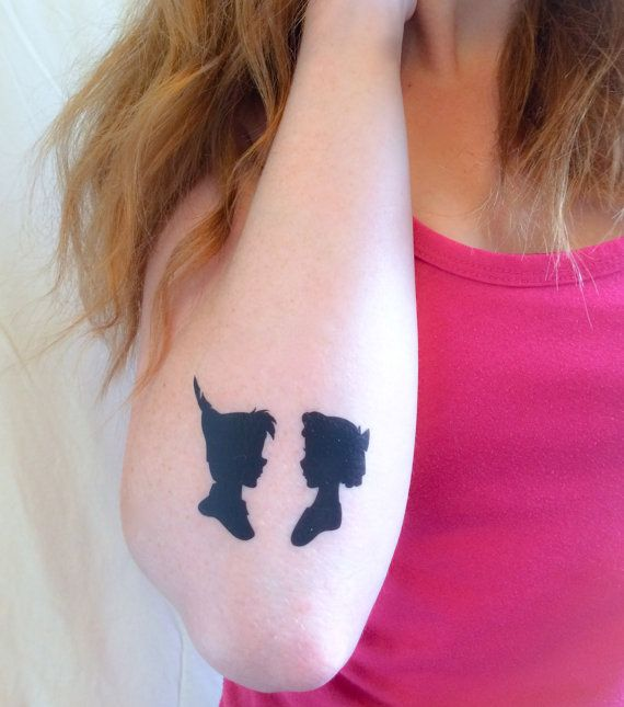 Peter and Wendy Temporary Tattoo