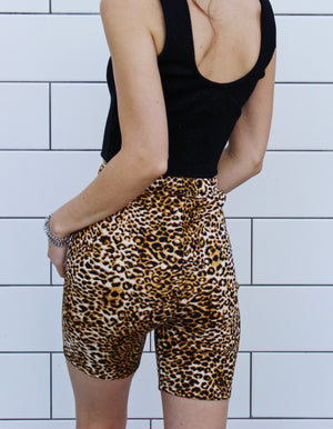 """Welcome to the Jungle"" Biker Shorts"
