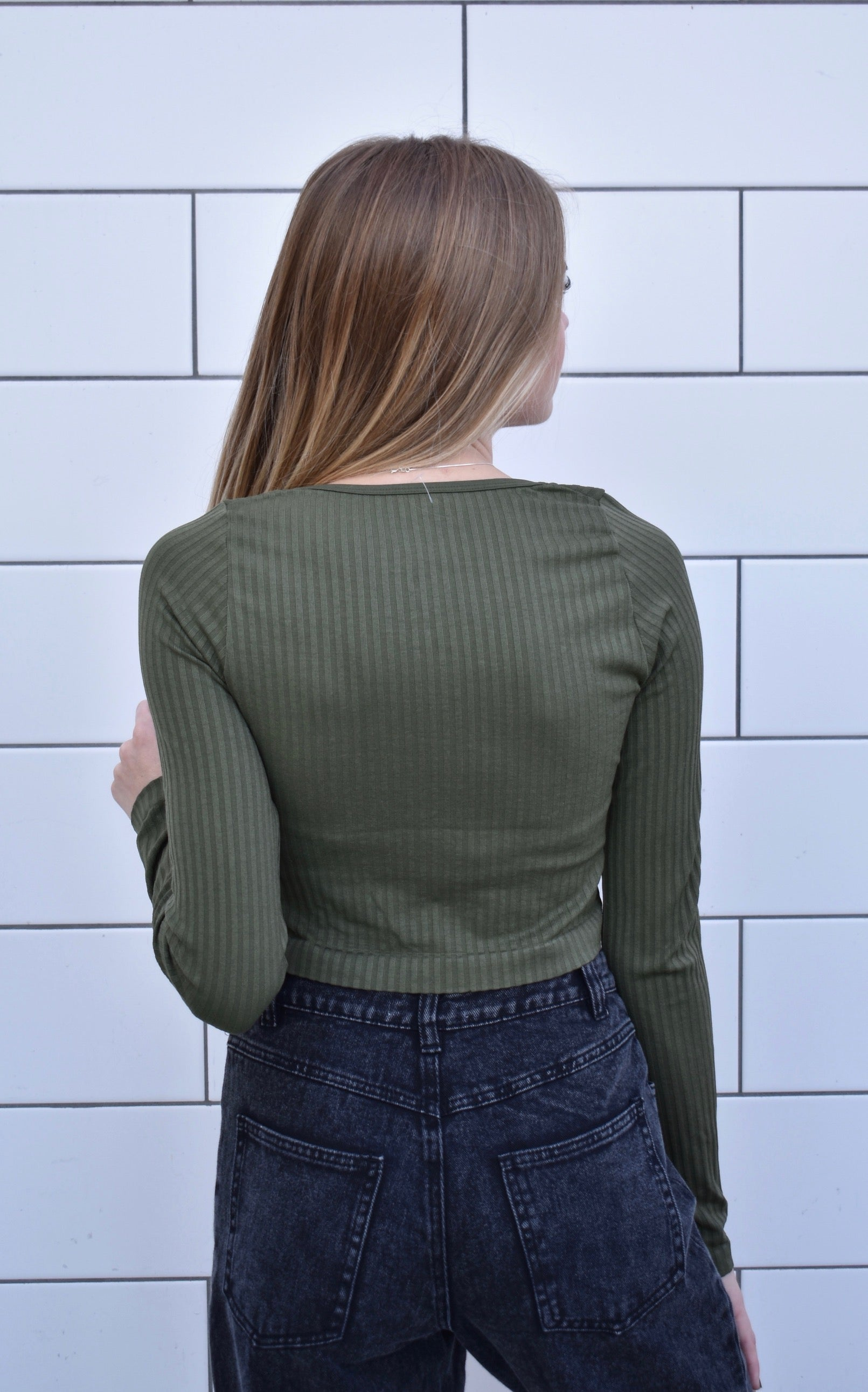 """Olive Winter"" Top"