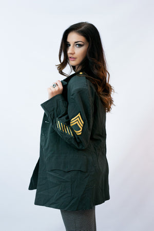 Vintage Army Coat - Shop Lost Generation  - 2