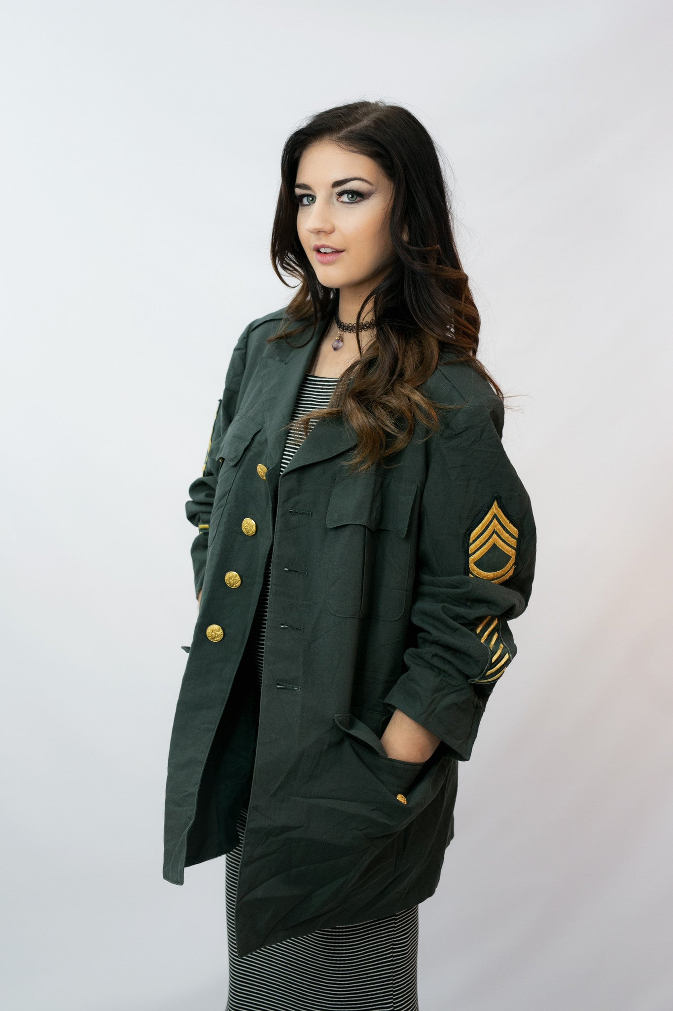 Vintage Army Coat - Shop Lost Generation  - 1
