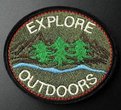 """Explore Outdoors"" Patch"