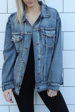 """The Blues"" Denim Jacket"