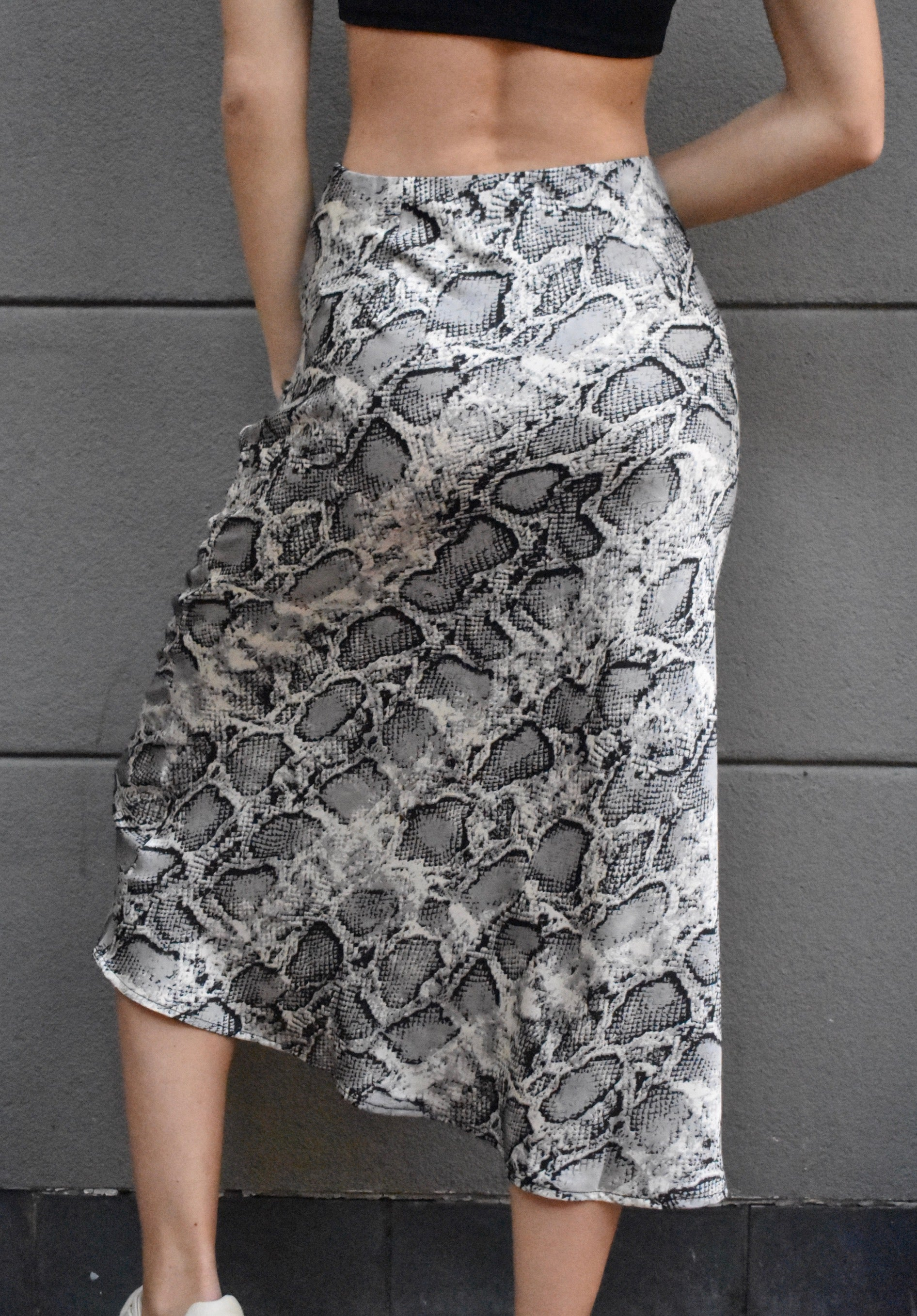 """Snakes & Lovers"" Skirt"