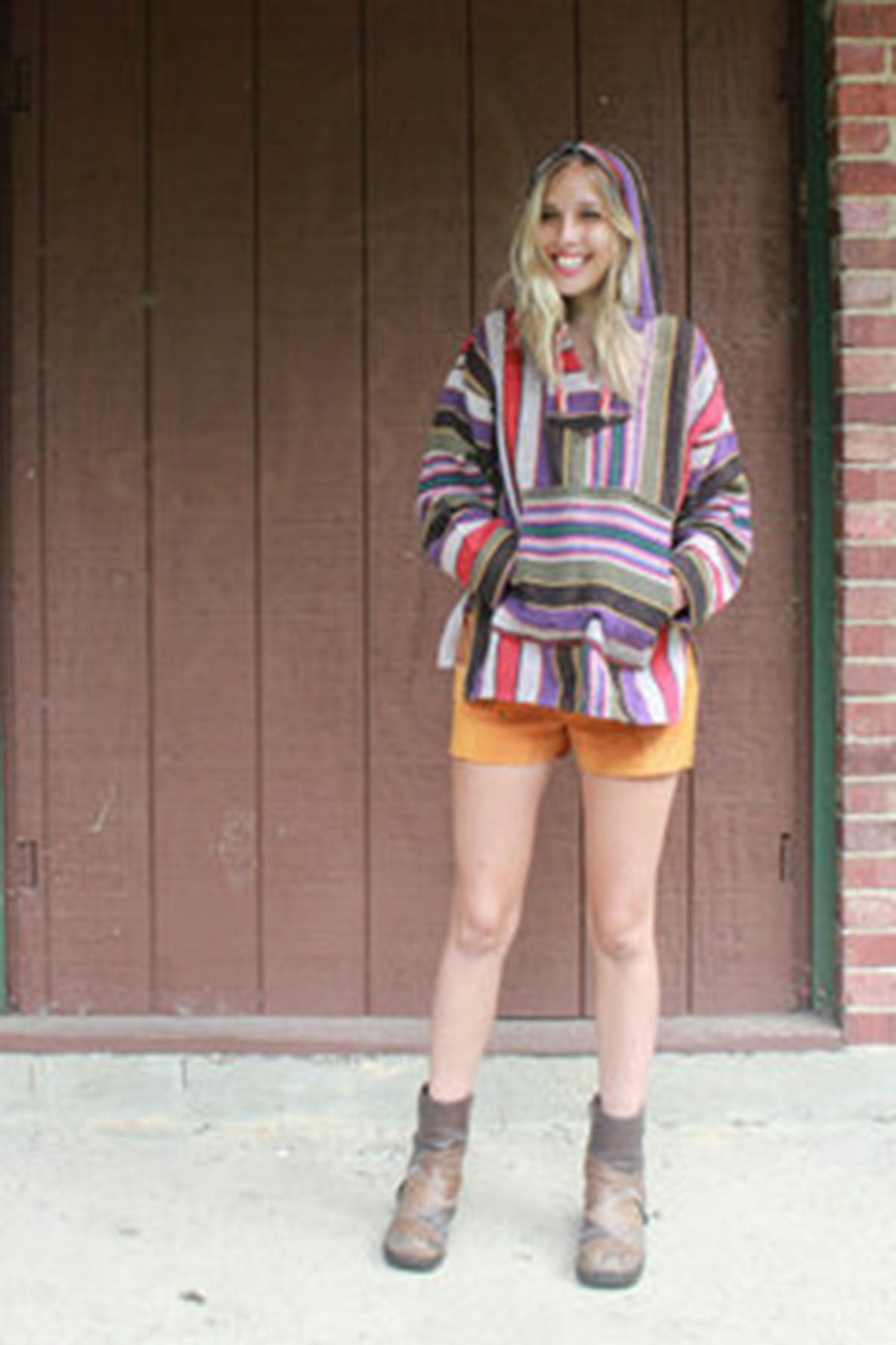 Vintage Baja Poncho - Shop Lost Generation  - 2