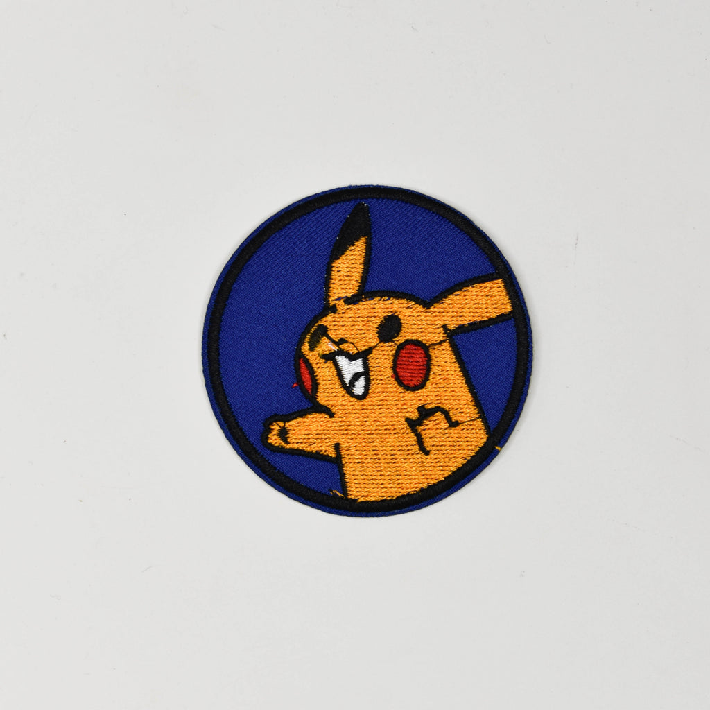 Pikachu Iron On Patch