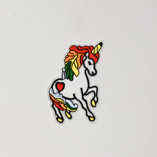 Rainbow Unicorn Iron On Patch