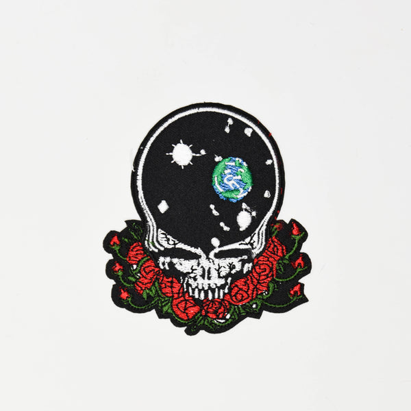 Grateful Dead Space Skull Patch