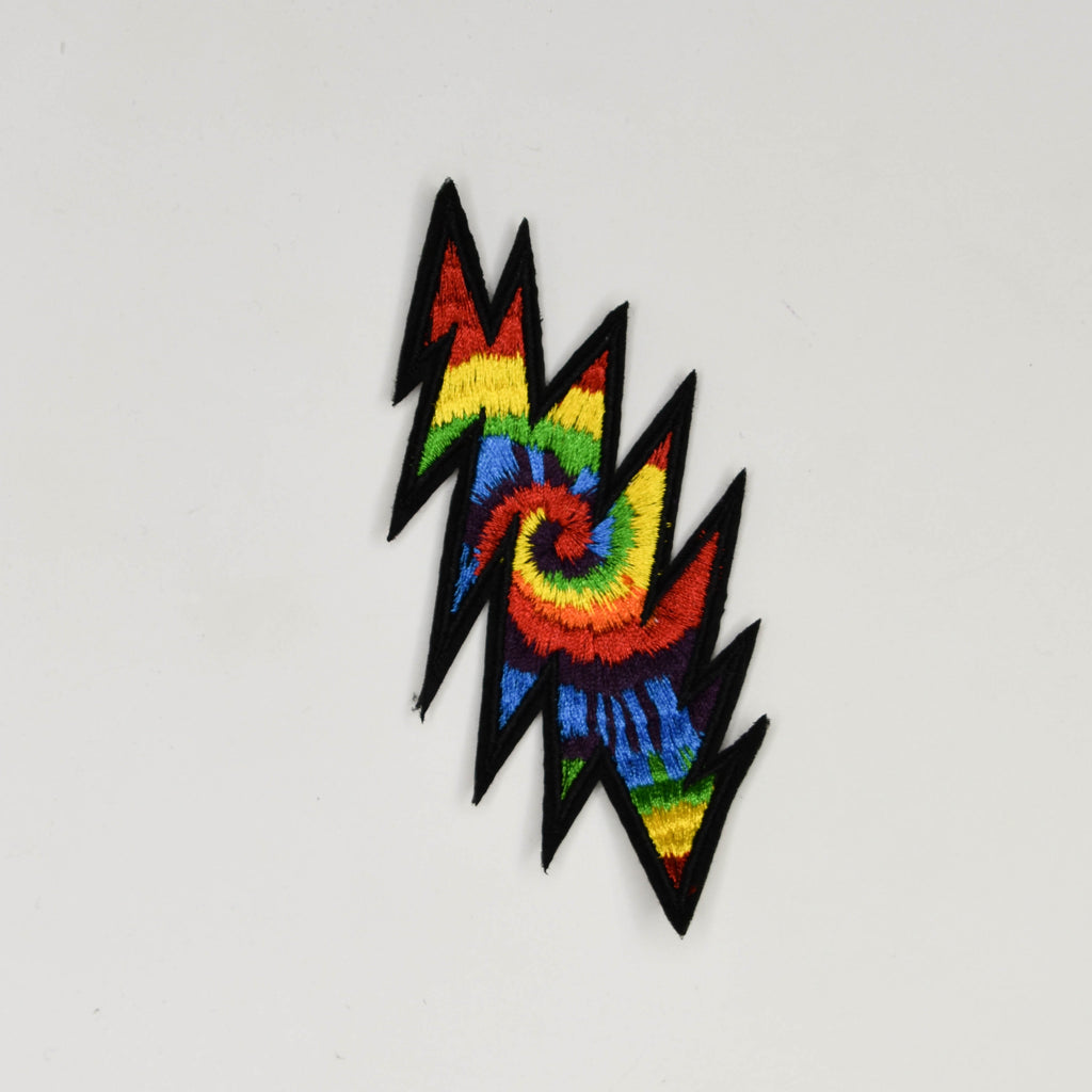 Grateful Dead 13 Point Tie-Dye Bolt