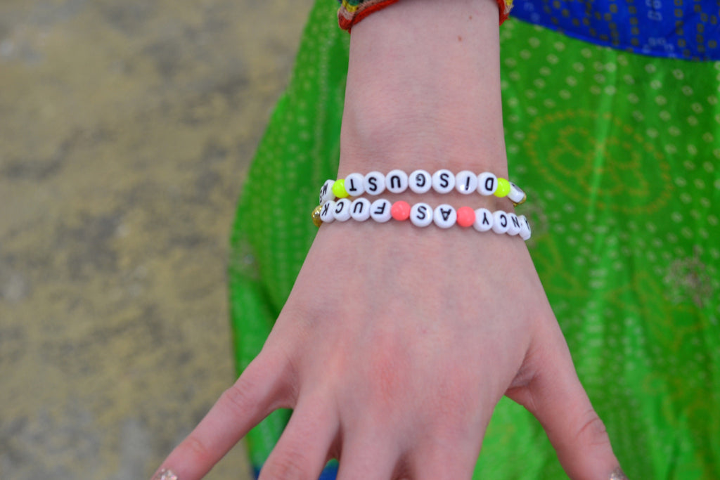 Cheeky Beaded Bracelet - Shop Lost Generation  - 2