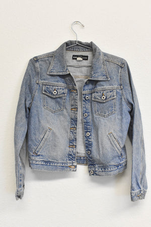 Peacock Patched Denim Jacket
