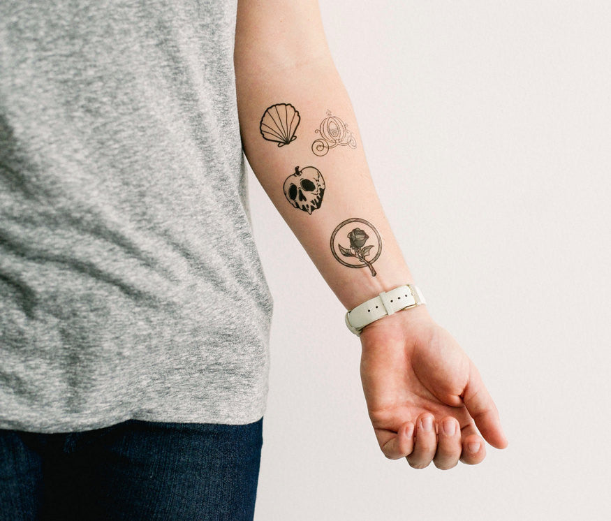 Disney Set Temporary Tattoos