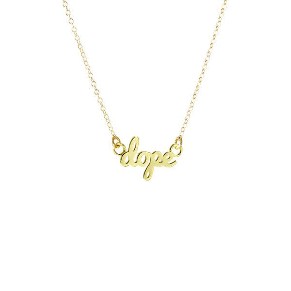 """Dope"" Necklace by Kris Nations"