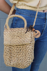 Vintage Espirit Straw Bag