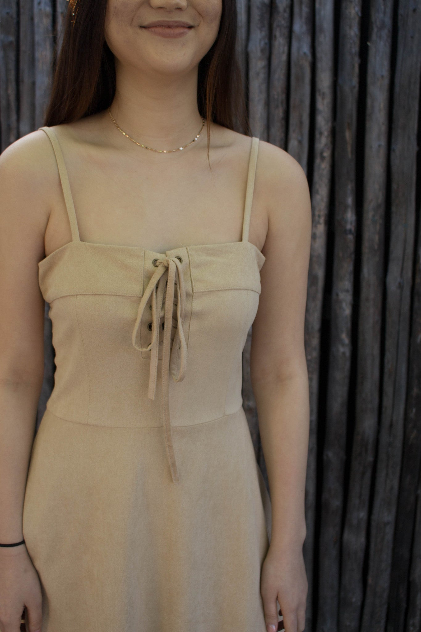 """Serena"" Lace Up Dress"
