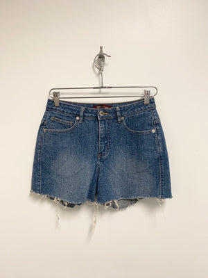 Reworked Denim Shorts