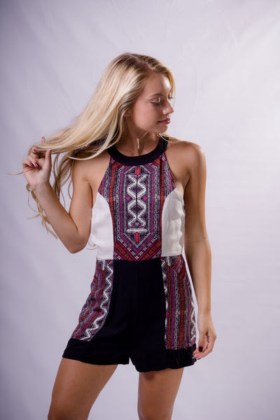 """Aztec Neon"" Romper - Shop Lost Generation  - 1"
