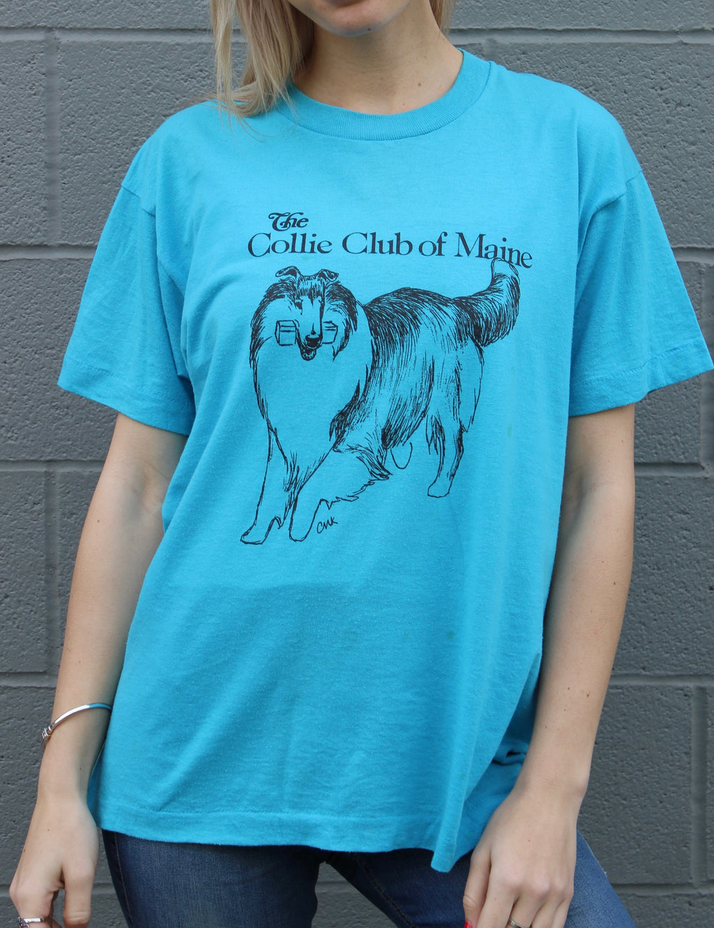 """The Collie Club of Maine"" Vintage Tee"