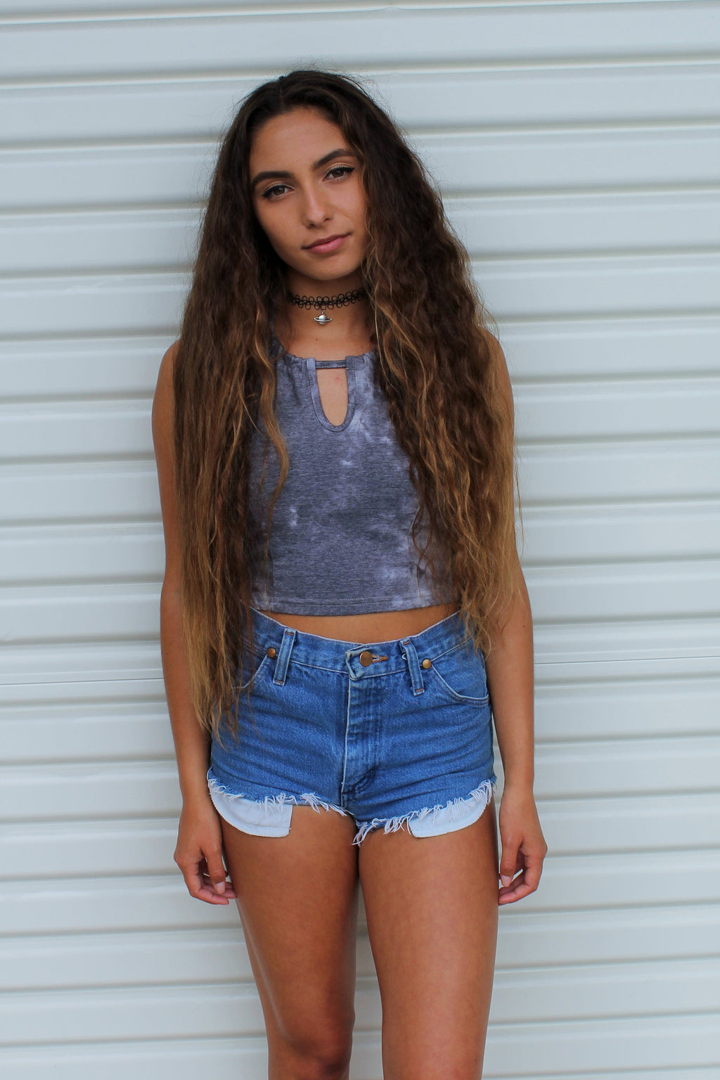 """Unholey"" Crop Halter - Shop Lost Generation  - 1"
