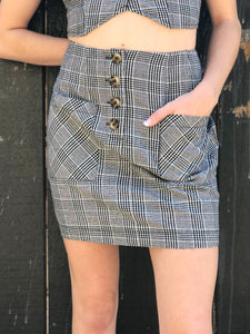 """Plaid Gal"" Skirt"
