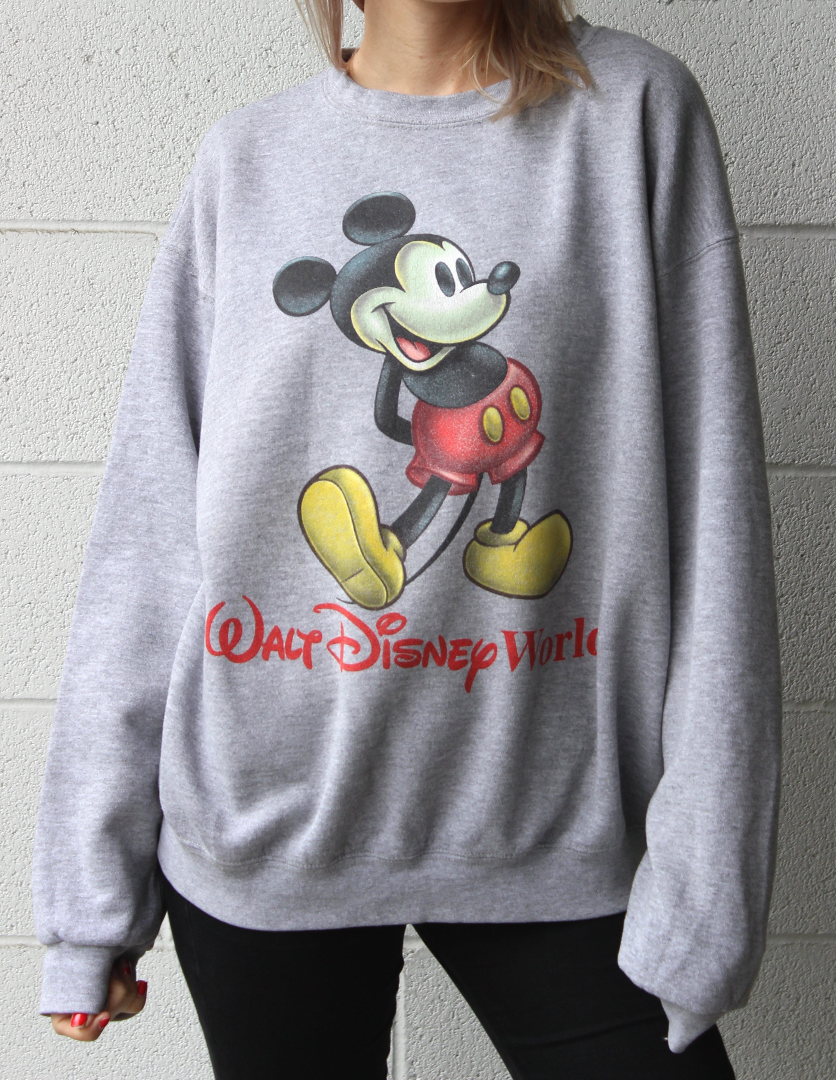 """Walt Disney World Mickey"" Vintage Sweatshirt"