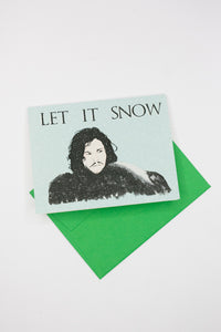 "Game of Thrones ""Let It Snow"" Holiday Card - Shop Lost Generation"