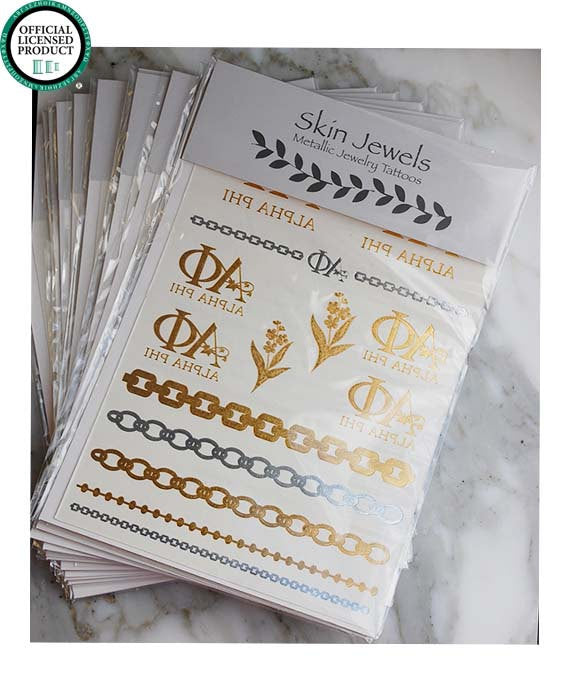 Sorority Metallic Tattoos - Shop Lost Generation  - 2