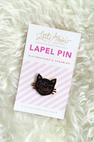 Cat Lady Pin - Shop Lost Generation  - 3