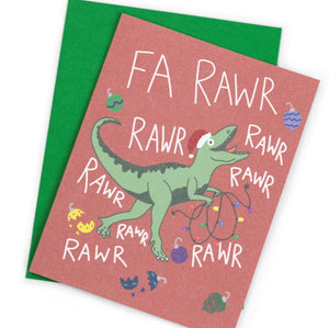 Fa Rawr Rawr Card - Shop Lost Generation